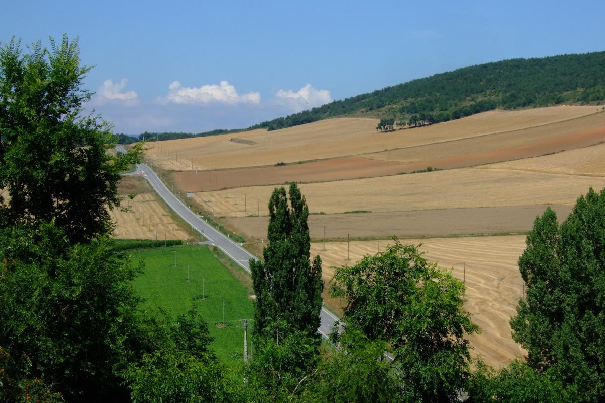 Carretera a Treviño y Vitoria
