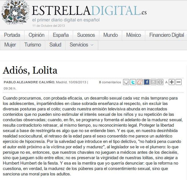 Publicado en Estrella Digital