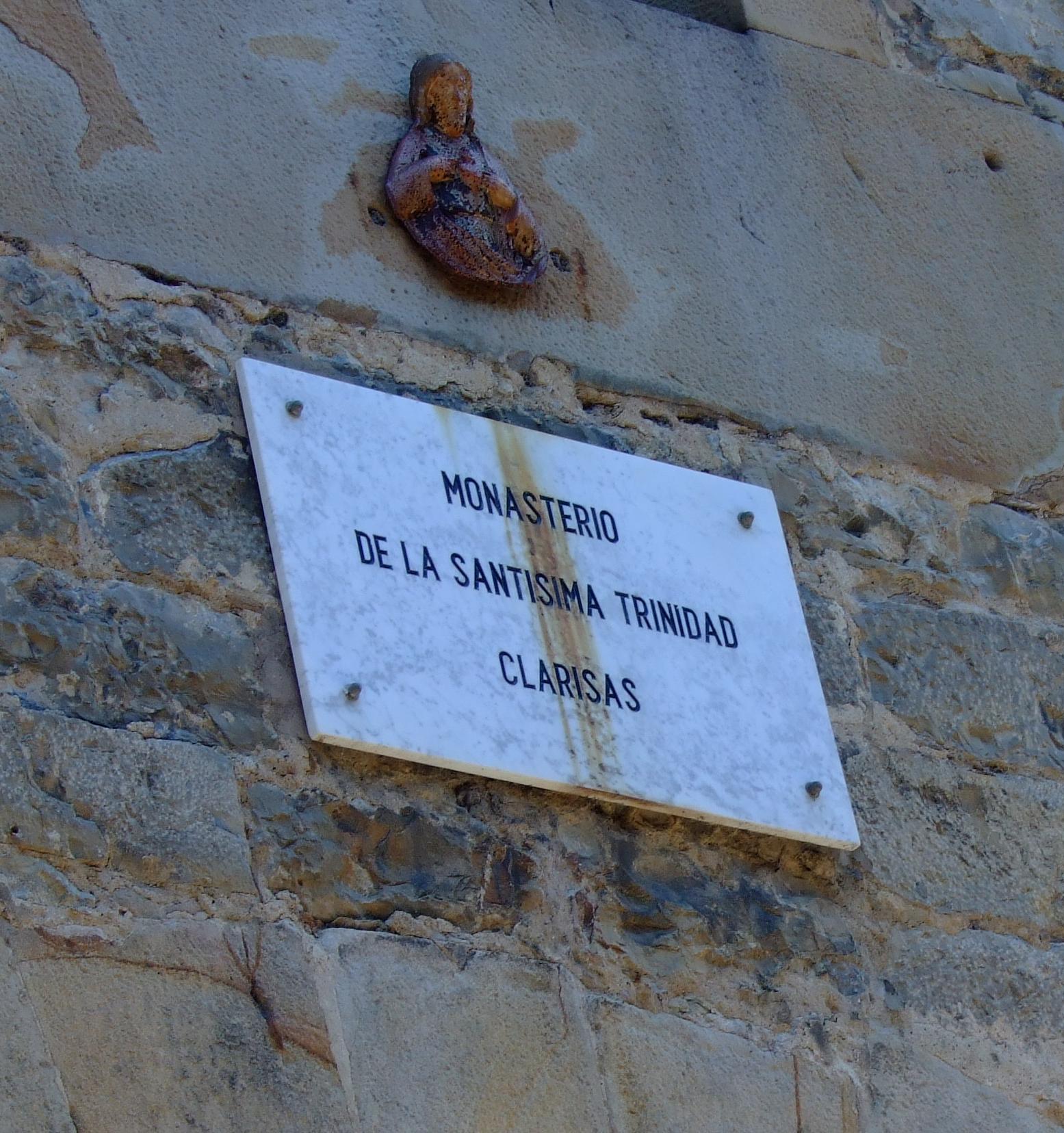 Monasterio de la Santísima Trinidad. Clarisas.