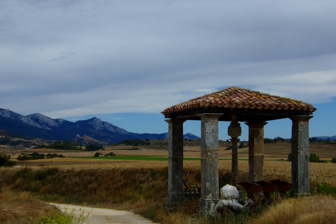 Sierra de Urquillo desde Narbaiza.