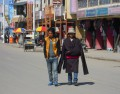 Hongyuan is very active during light hours. Typical long-sleeved Tibetan multiuse coat