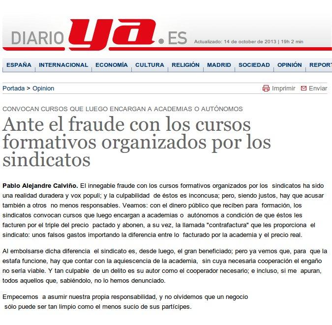 Publicado en Diario YA