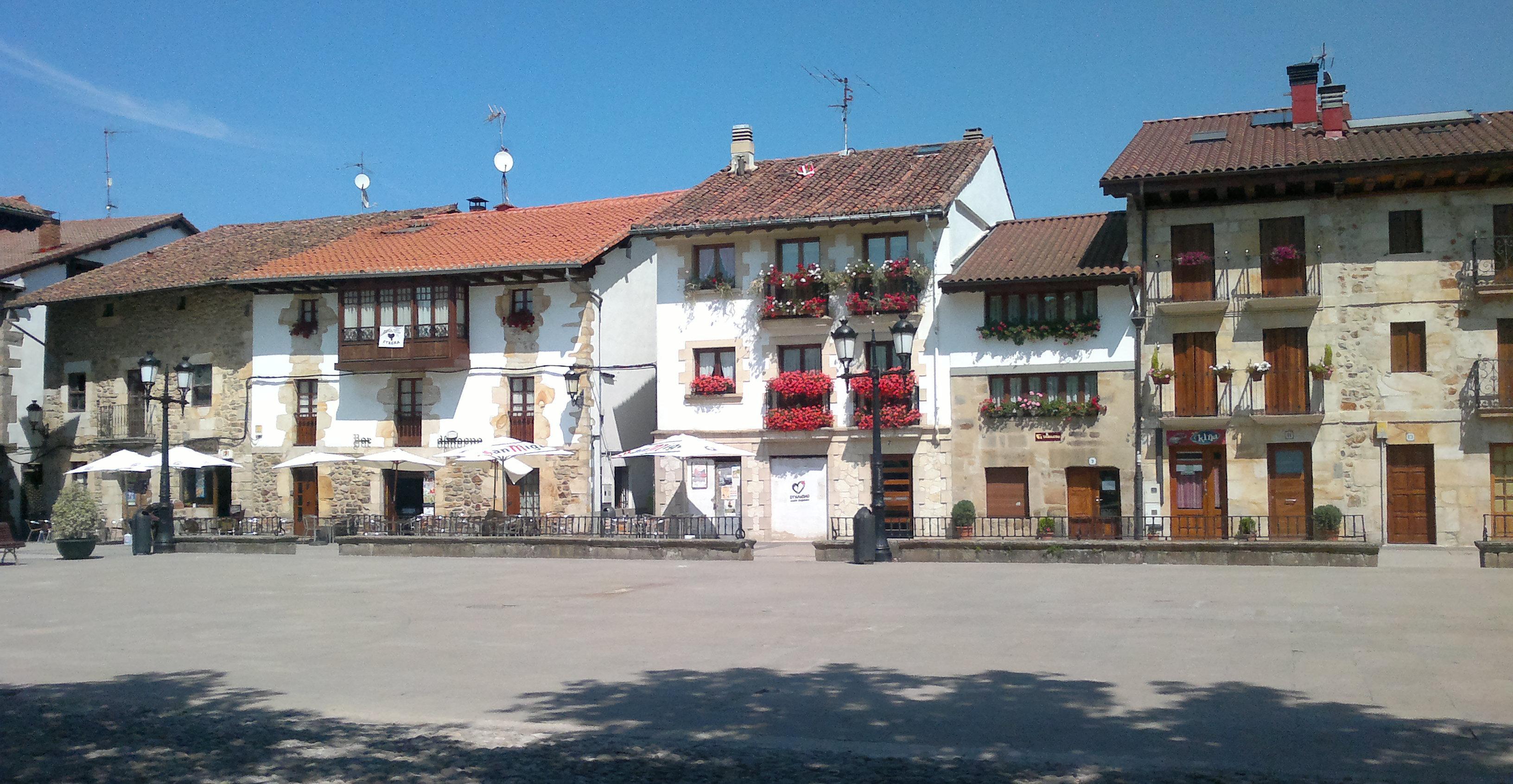 Casas de la plaza