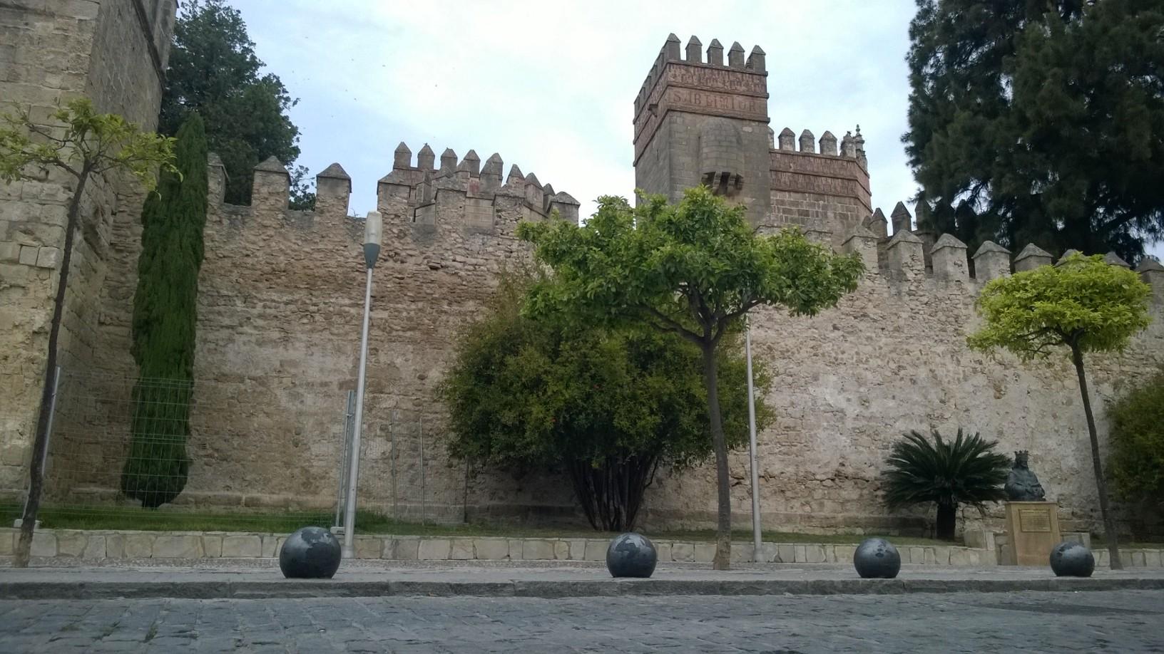 Santuario fortaleza Castillo de San Marcos, con las cantigas de Alfonso X el Sabio