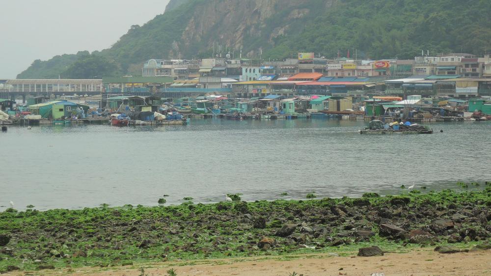 El pequeño puerto pesquero de Sok Kwu