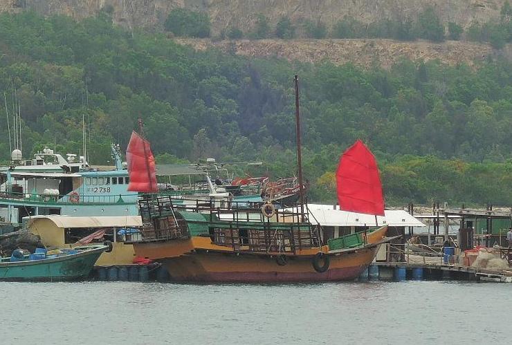 Viejos recuerdos de la China imperial, aún presentes en Lamma.