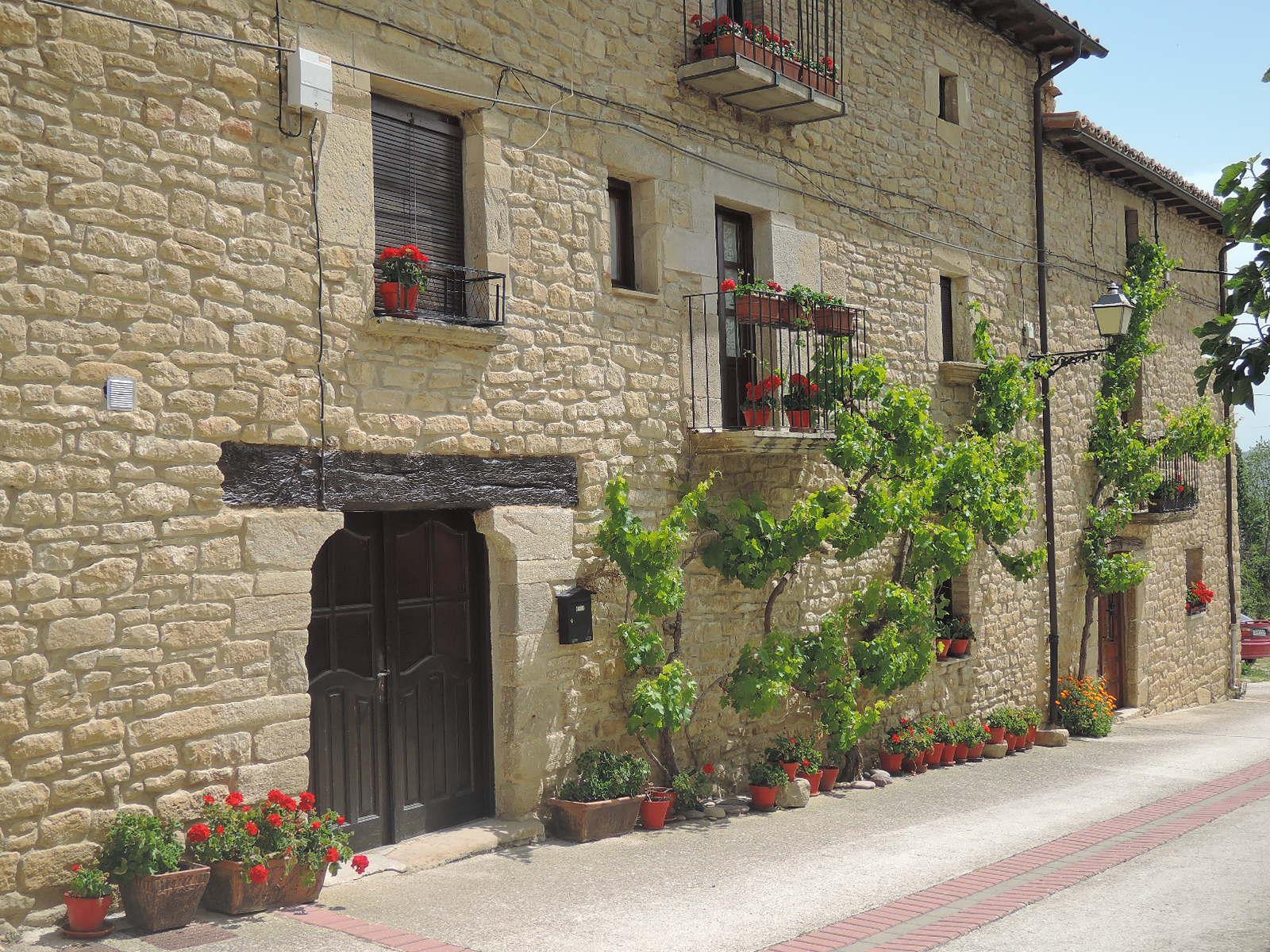 Casas en Lerga.