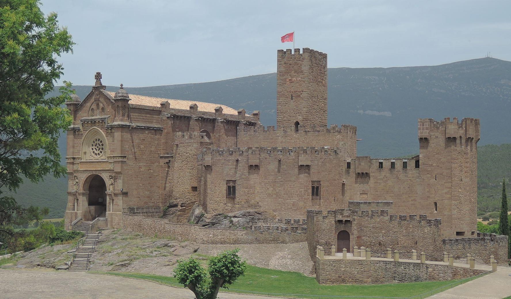 Castillo de Javier, cuna de San Francisco Javier.