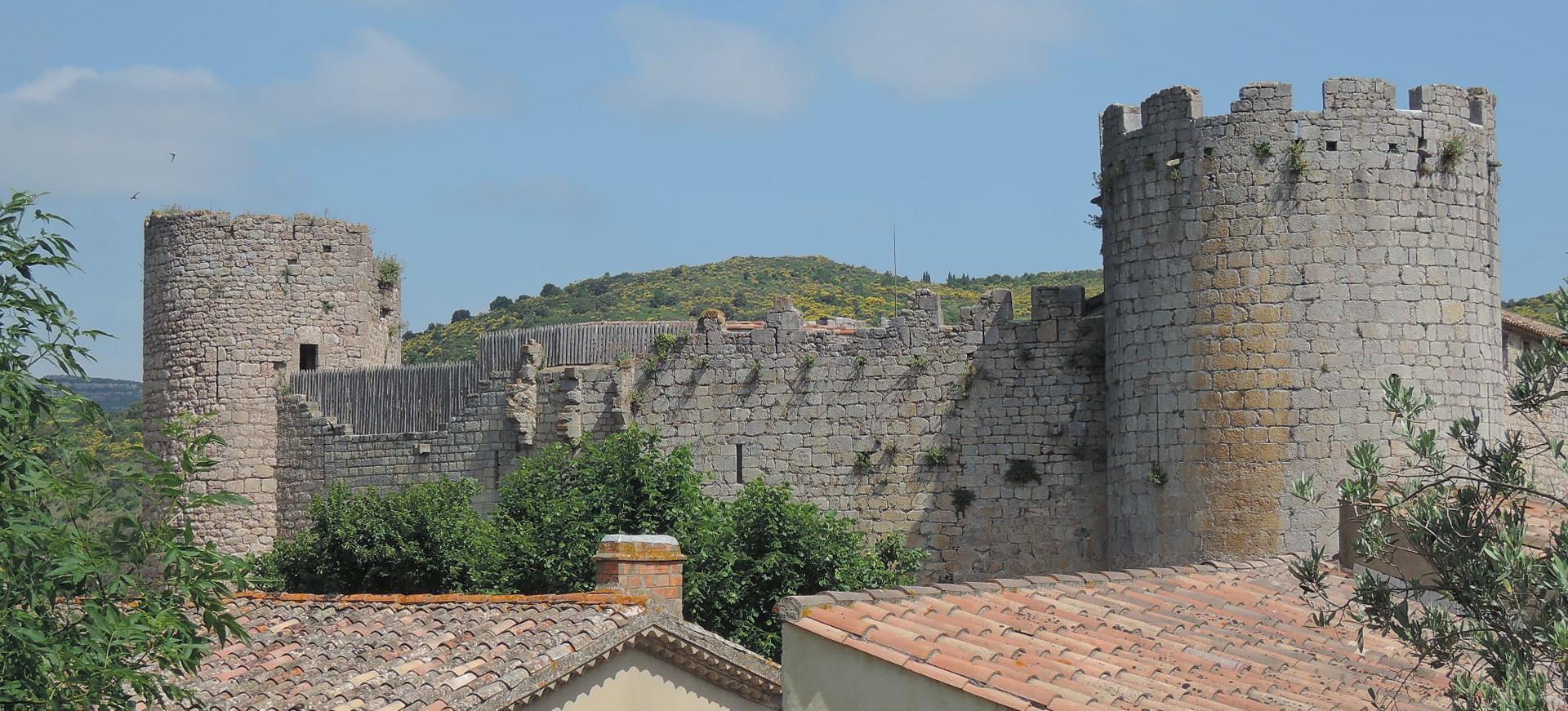Castillo de Villerouge-Termenès.