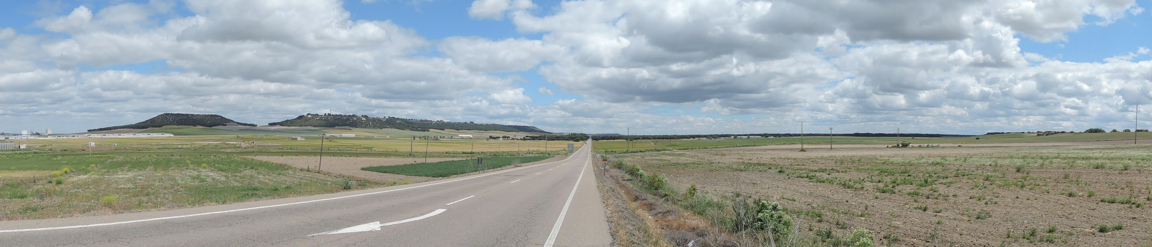 Entre Olmedo y Pedrajas de San Esteban