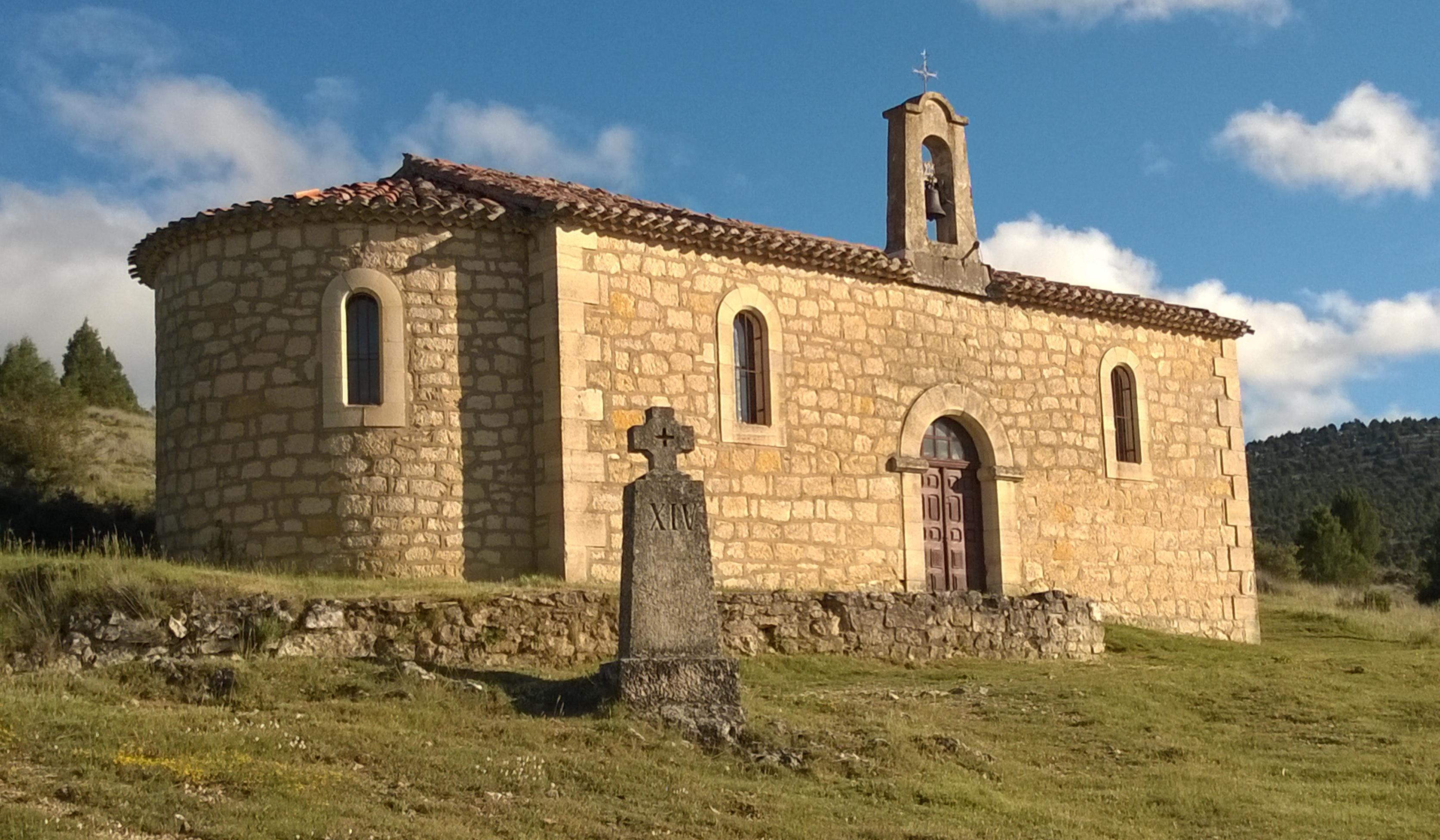 Ermita de la virgen del Camino.