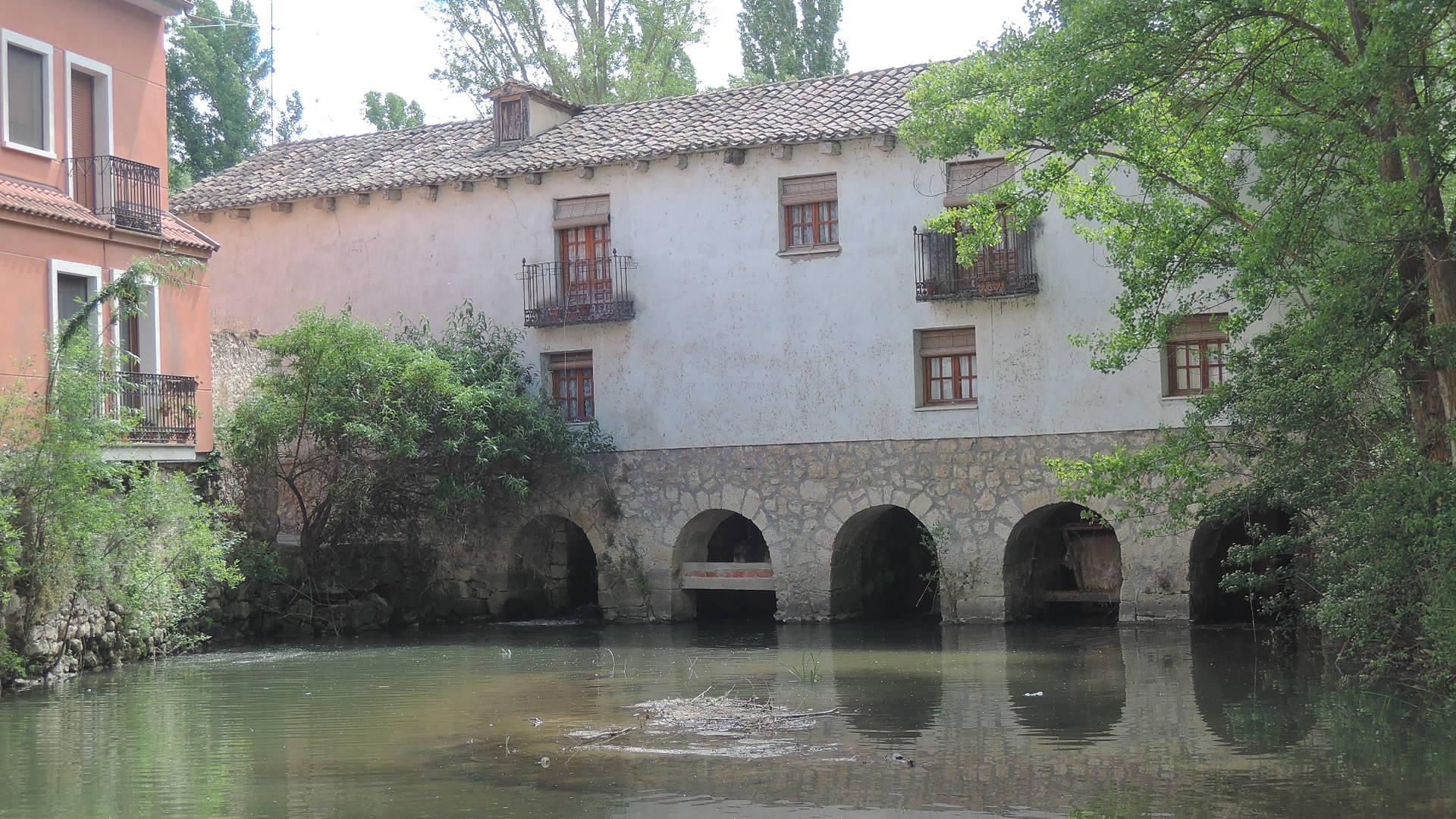Viejo molino en Peñafiel.