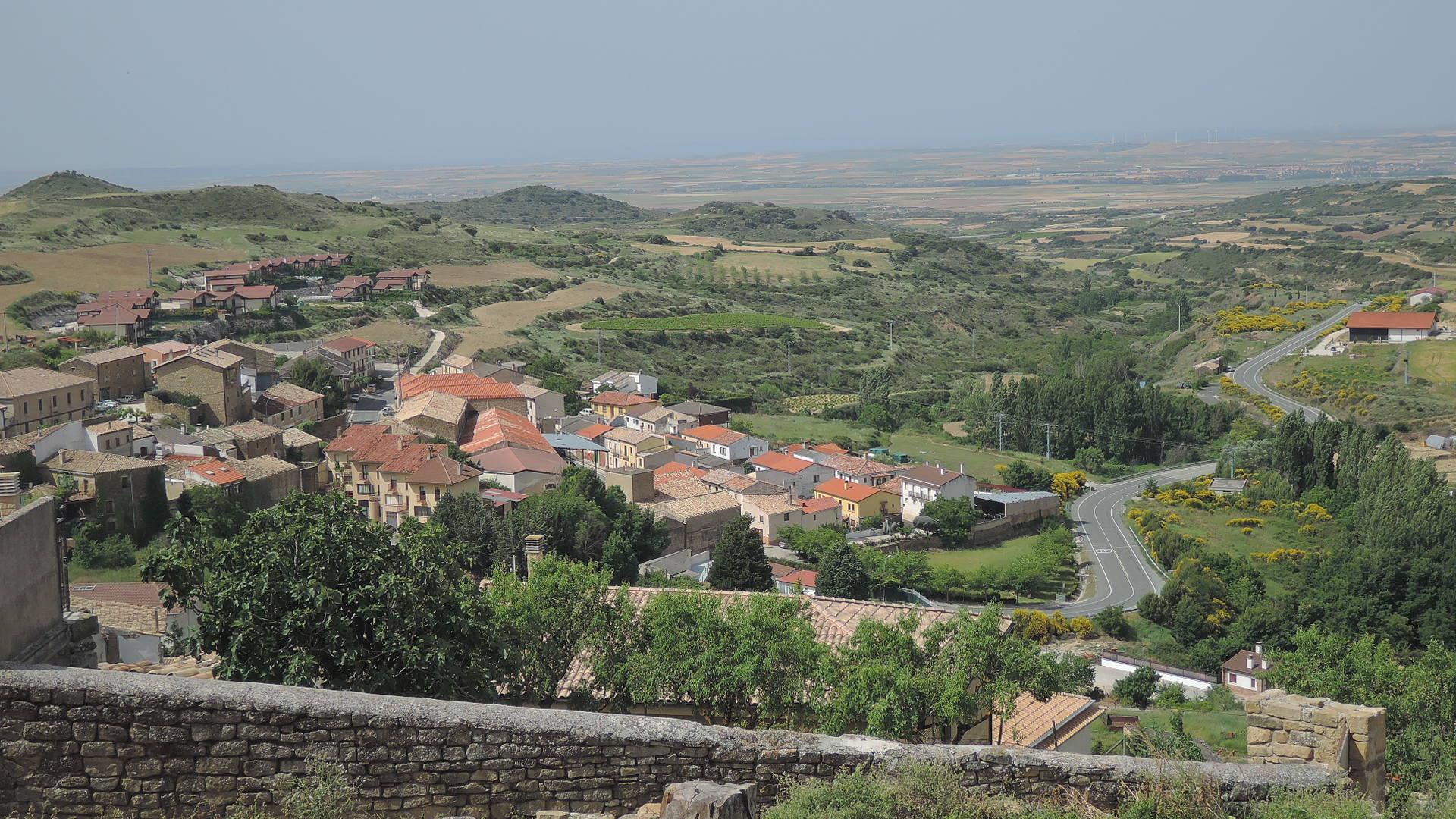 Hermosa vista desde la iglesia de San Martín.
