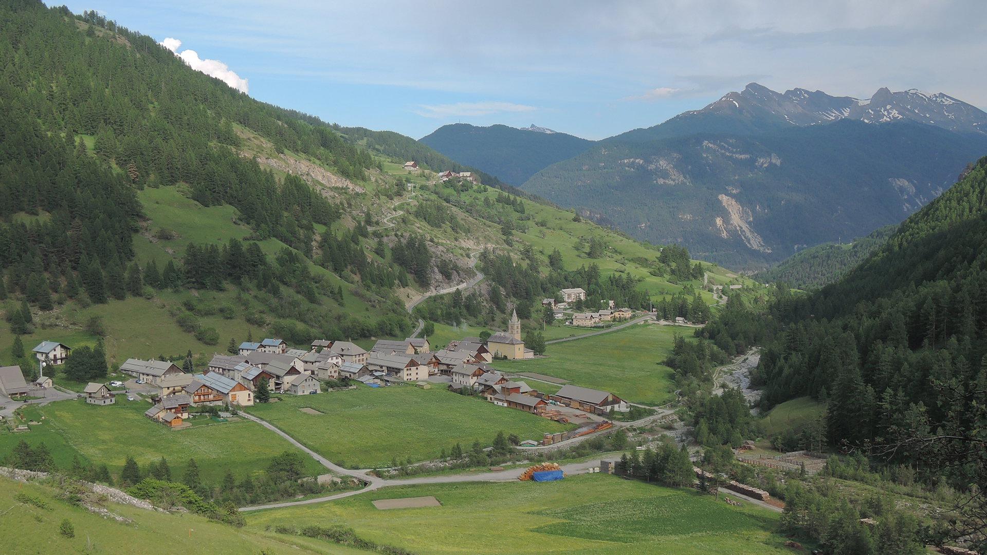 Arvieux, en los Altos Alpes franceses.