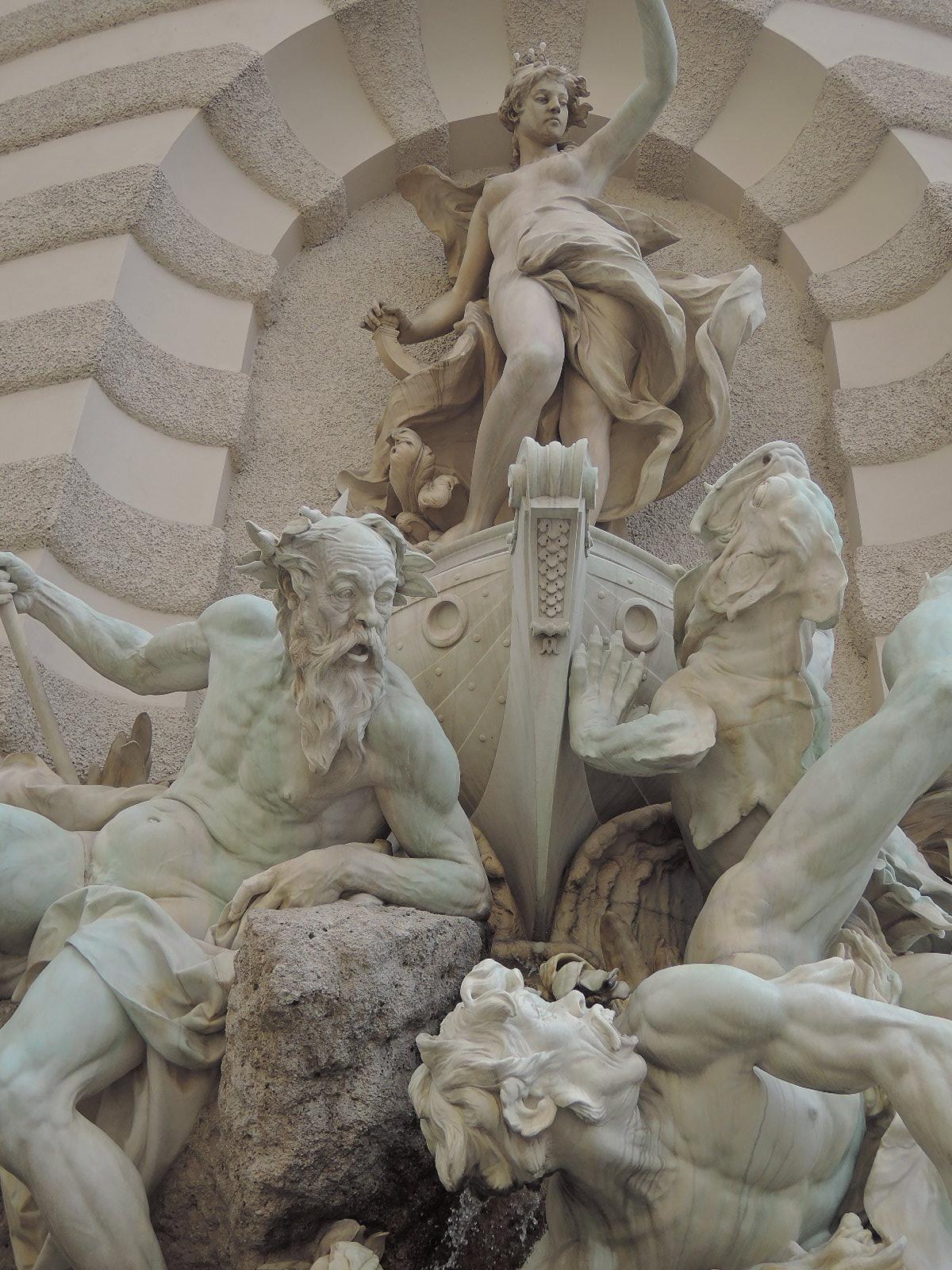 El poder en el mar. Palacio de Hofburg. Viena.