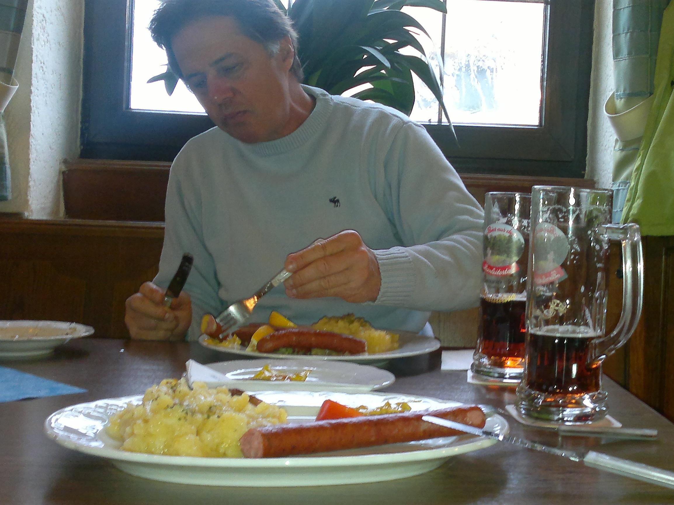 Comer y beber en compañía del mismísimo Phl Marty.