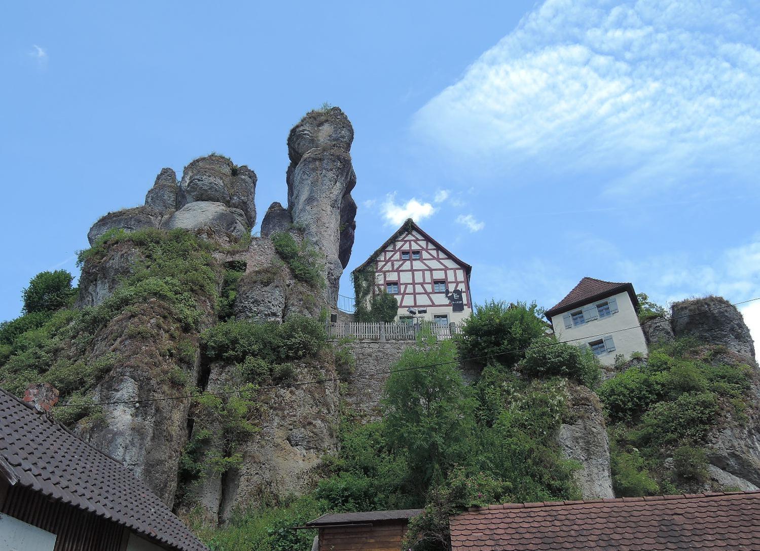 El peculiar entorno rocoso de Tuchersfeld