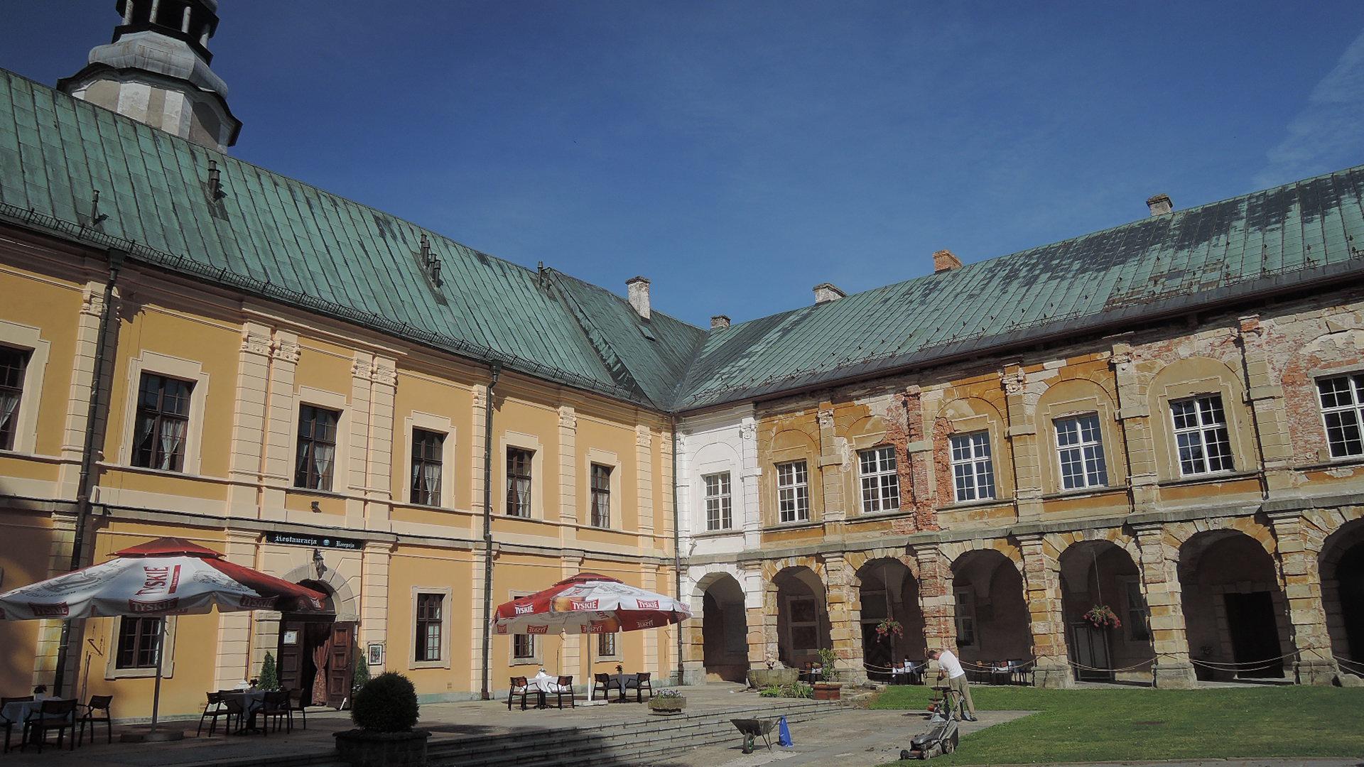 El hotel Zamek Miedzilesie.