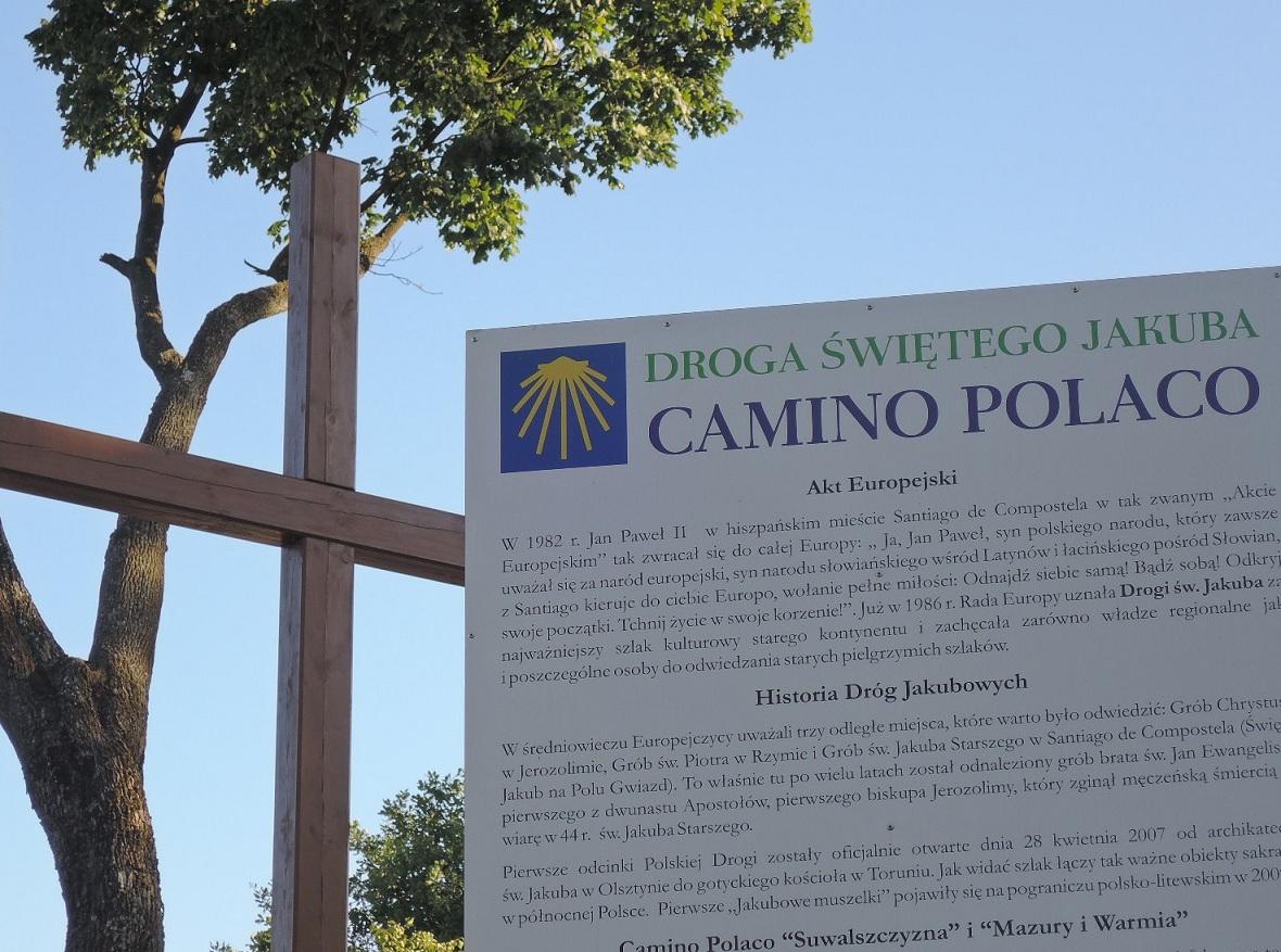 El Camino de Santiago en Polonia pasa por Sejny.
