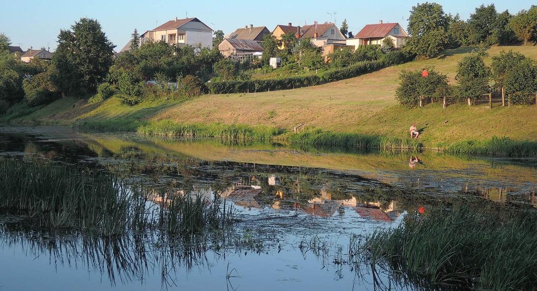 Vista parcial de Kedainiai. Lituania.