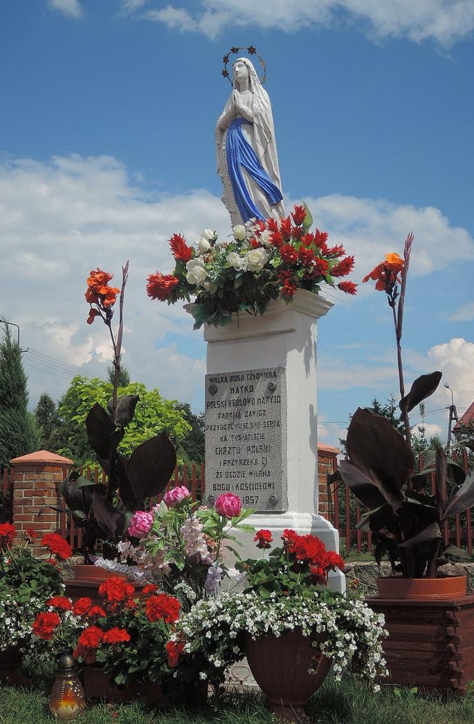 Virgen María velando por el pueblo.