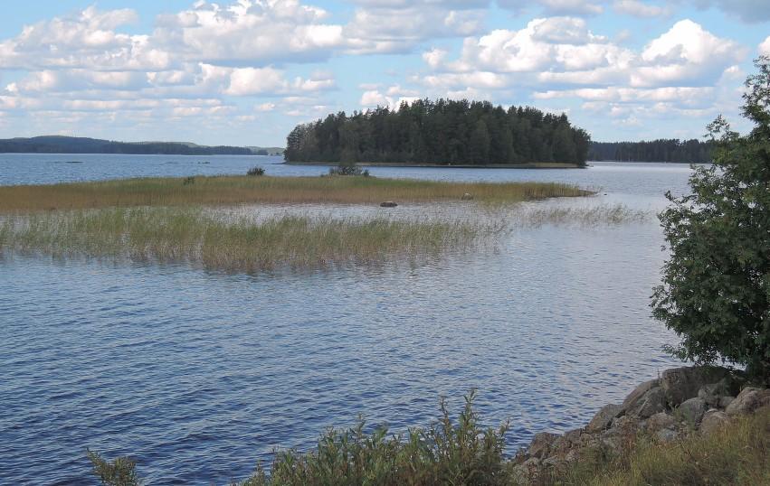 ¿Dónde no hay un lago en Finlandia?