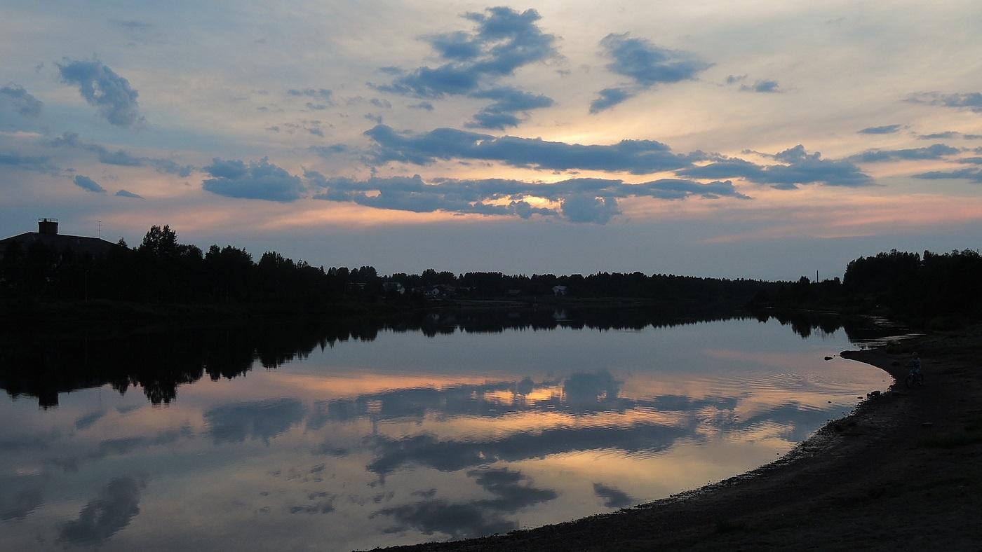 Anochecer en Sodankylä