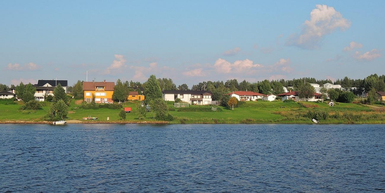La ribera este del Kitinen, Sodankyla