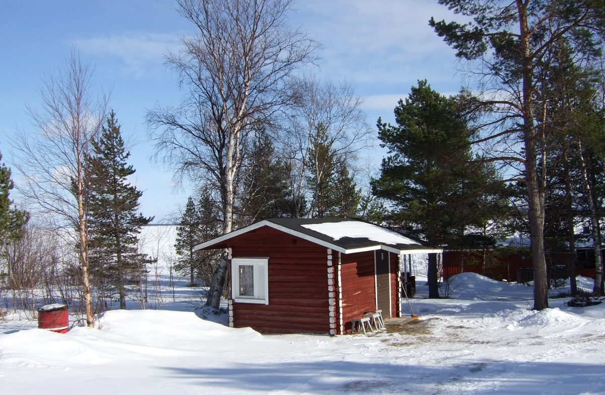 Mi cabañita en Lomakylä, diez años atrás