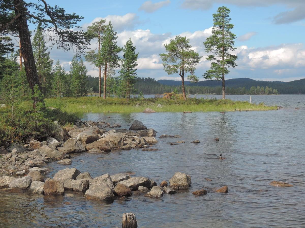En algún lugar entre Sodankylä e Inari