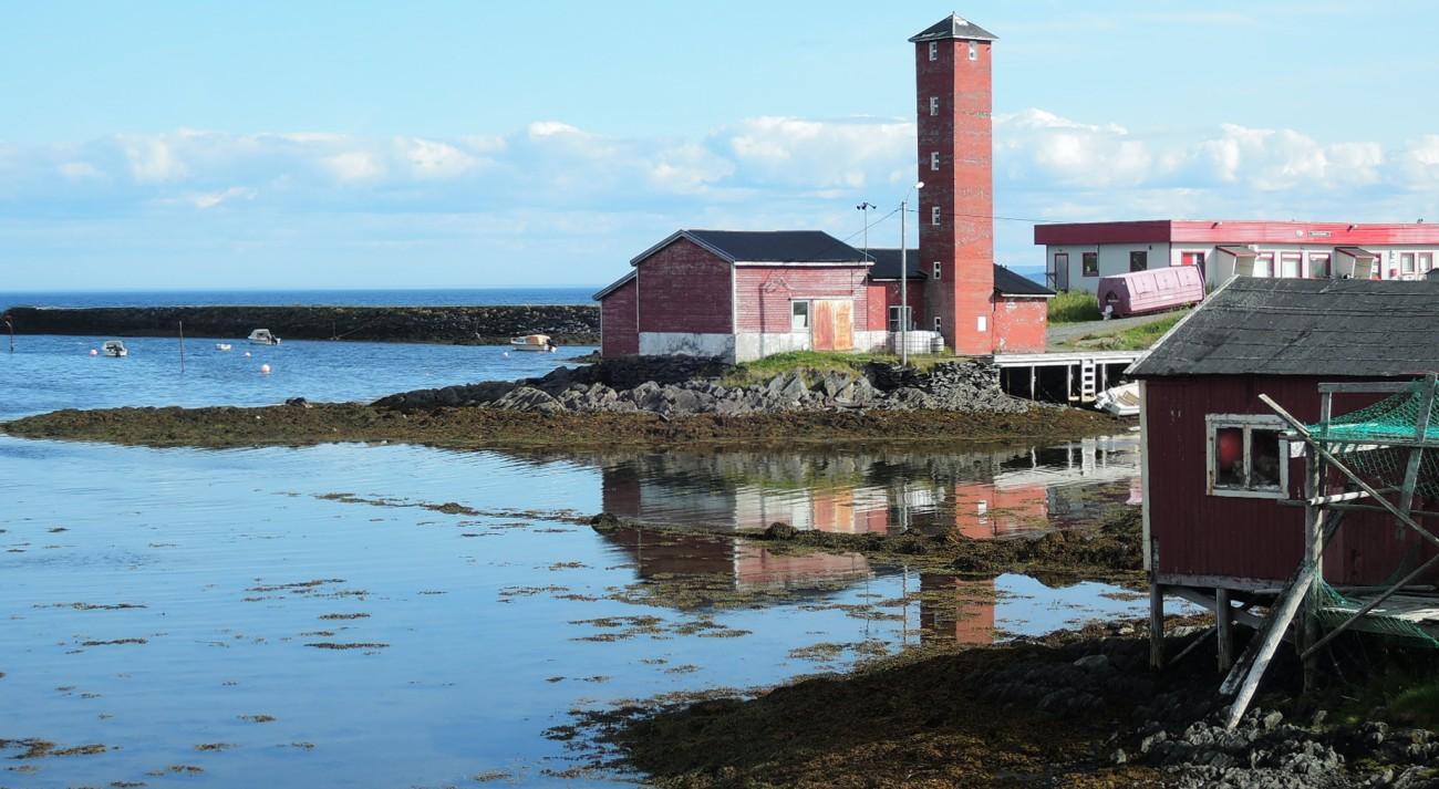 Un viejo silo en Gamvik