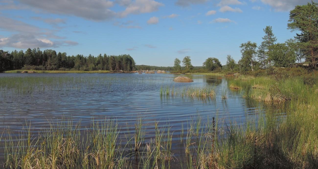 Inarijärvi es el lago más grande de Laponia, a cuyas orillas está Inari.