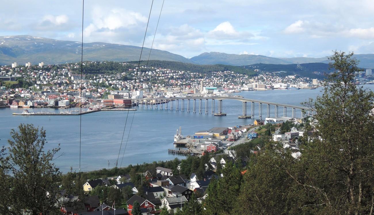 Panorámica de Tromso