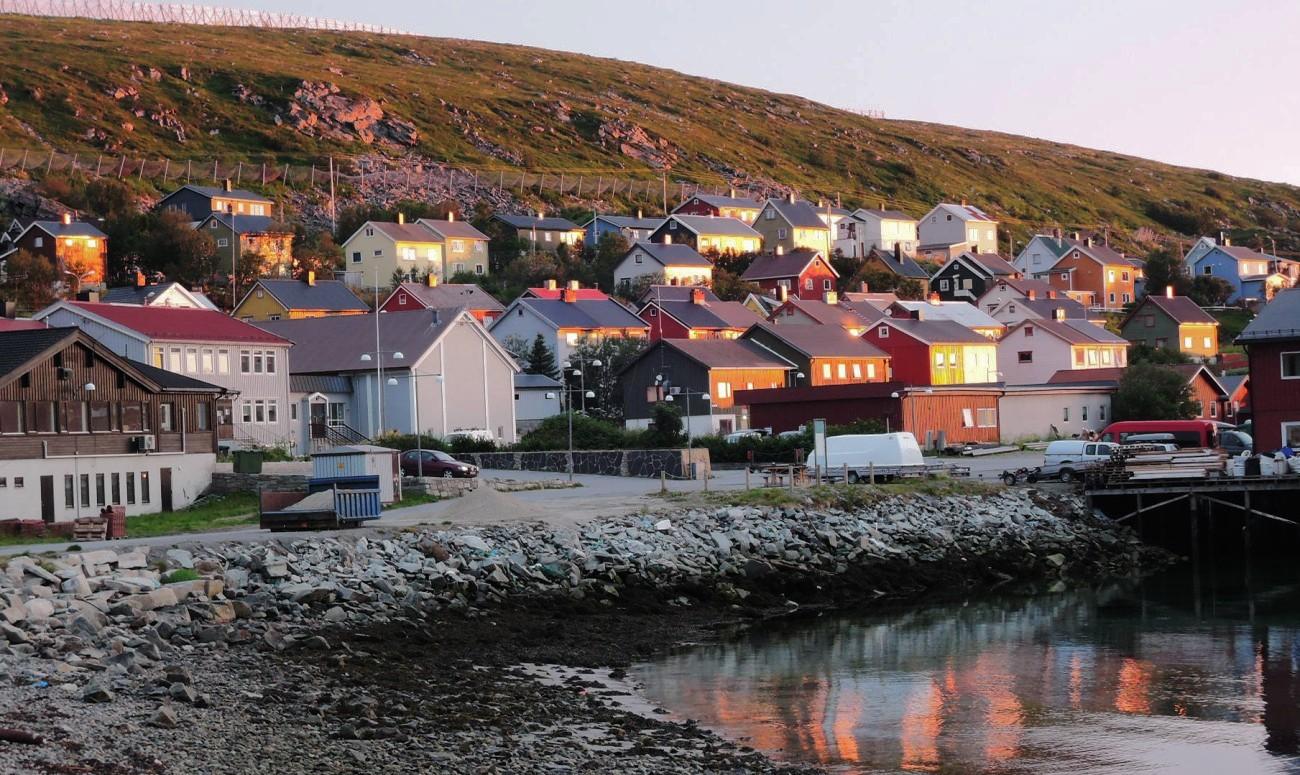 Kjollefjord soñando con poniente