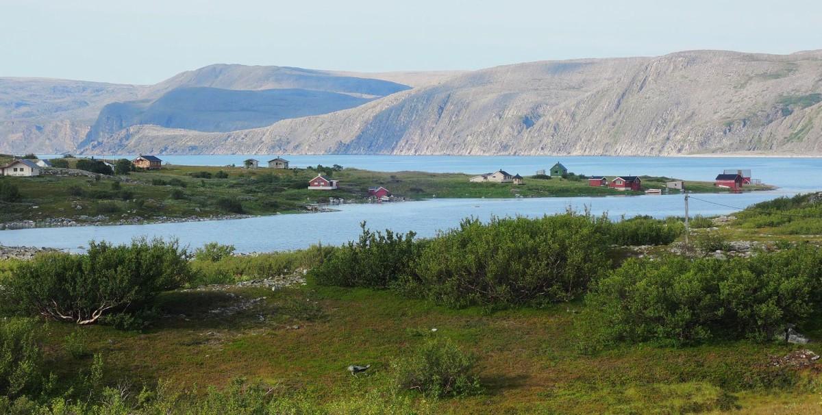 A mitad de camino entre Mehamn y Kjolle