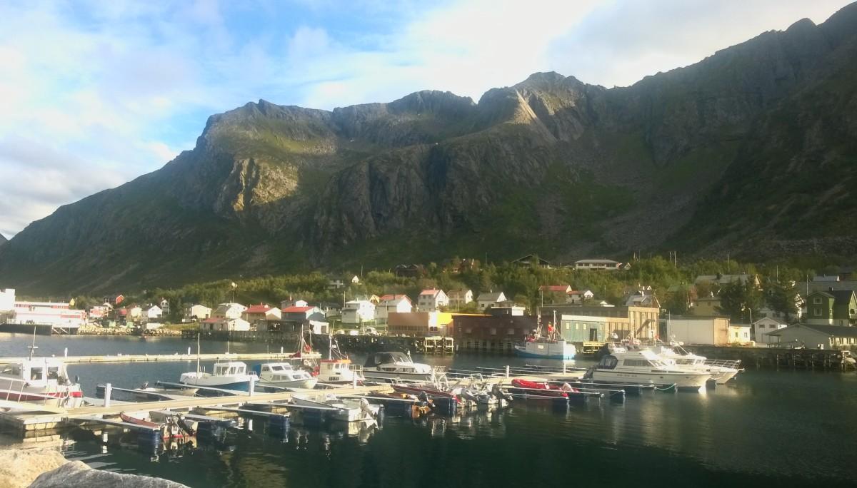Puerto de Gryllefjord