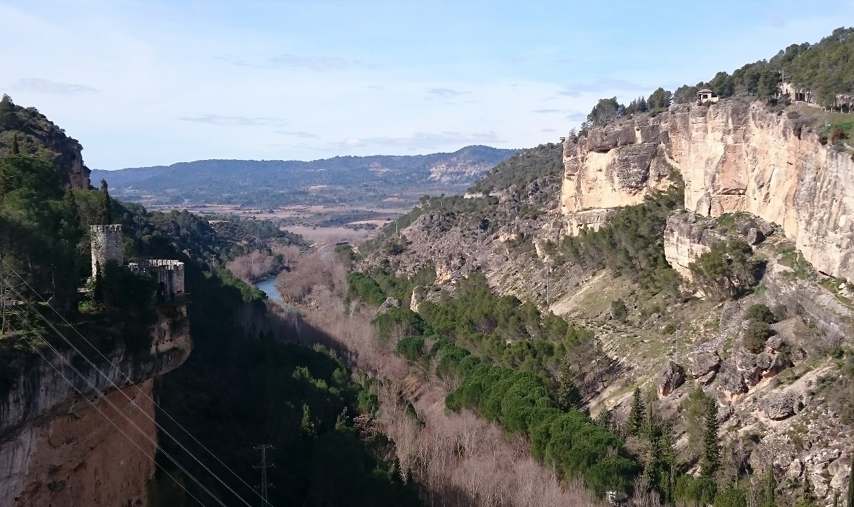 Vista desde la presa de Entrepeñas