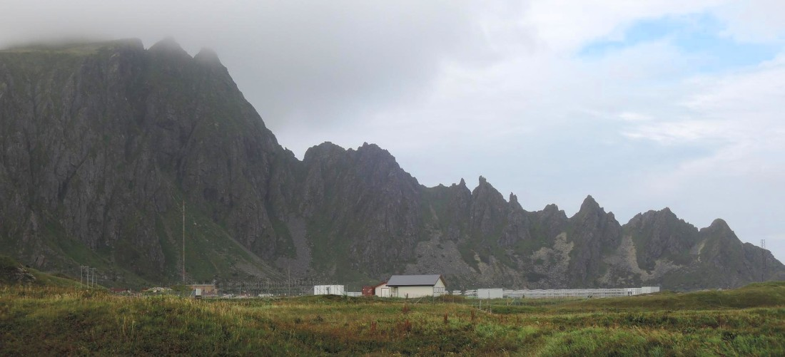 Mountains of Bleik, 5 km south of Andenes