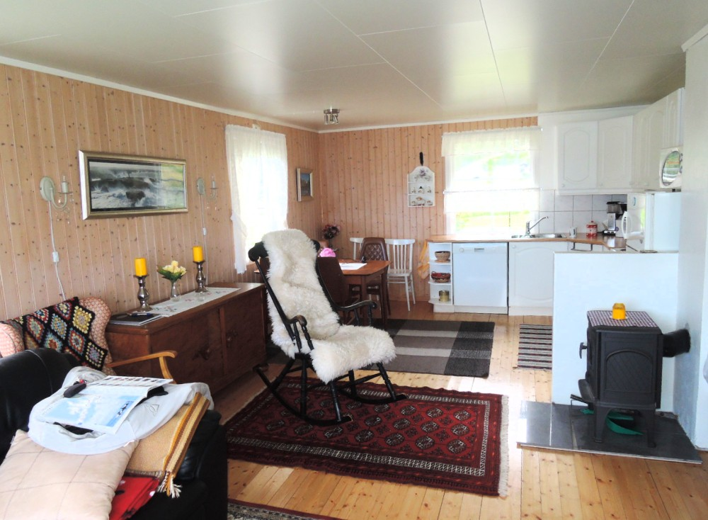 El salón cocina, lujo total