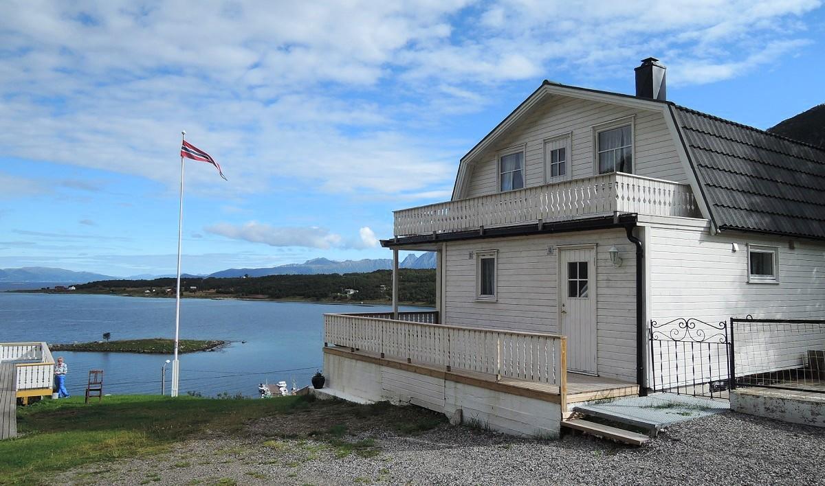 Mi casita de alquiler en Myrlandsfjorden