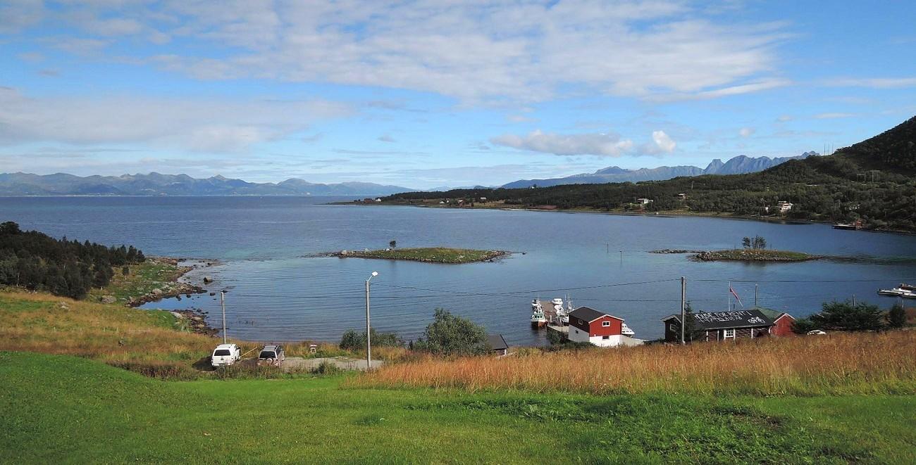 Myrlandsfjorden visto desde mi terraza