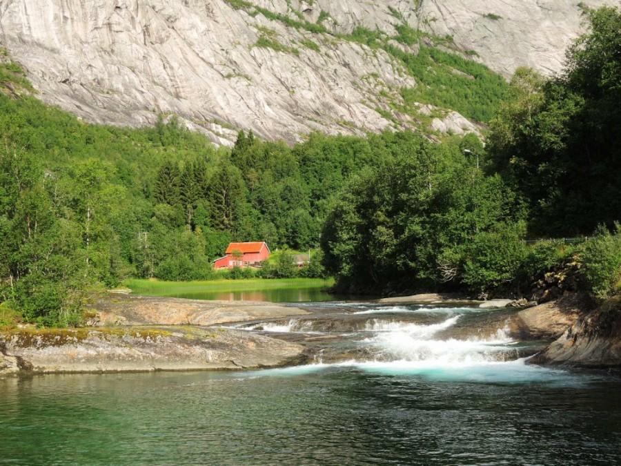 Rápidos del Norfjordelva