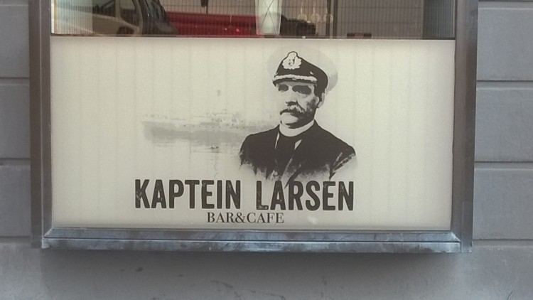 El pub Kaptein Larsen, en Bodo