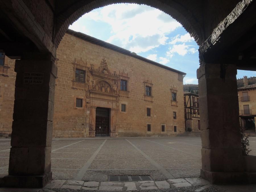 El palacio de los condes de Miranda