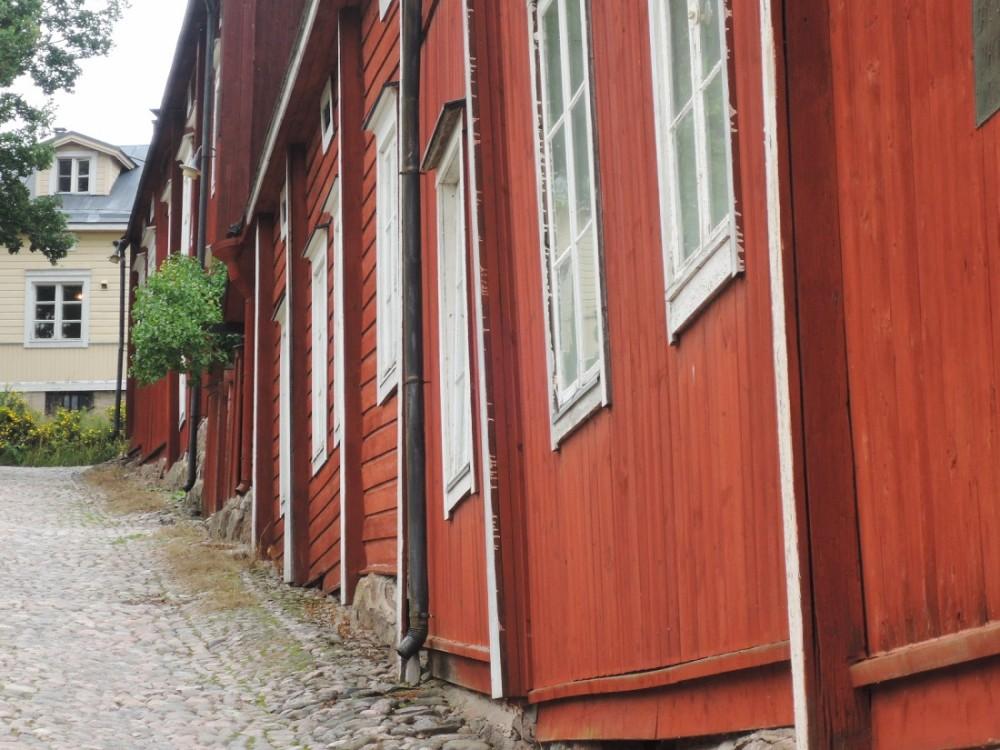 Añejas casas de madera