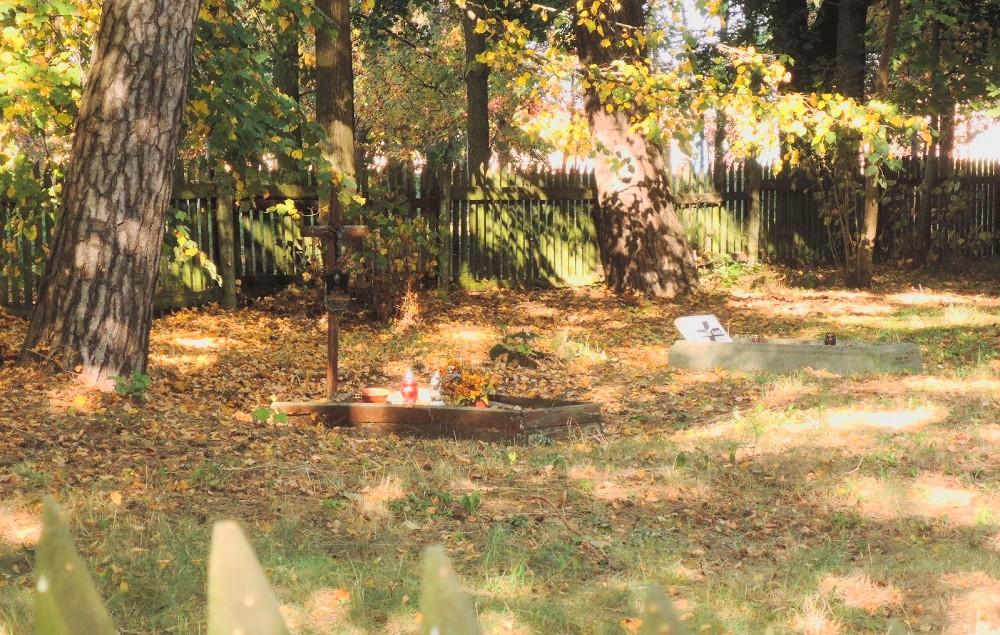 Cementerio en Piecki