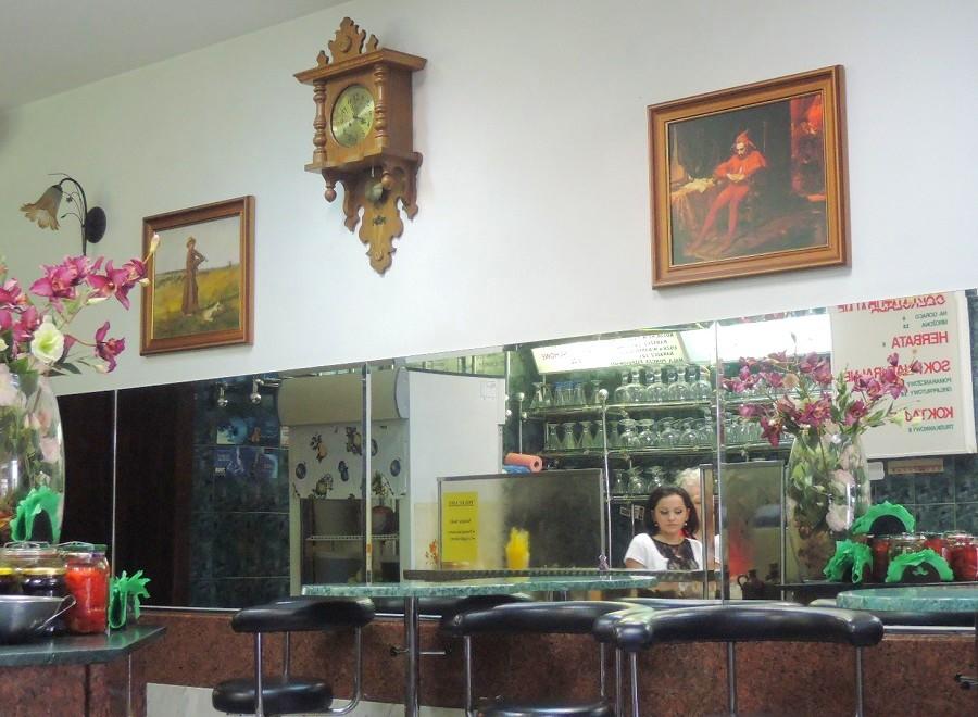 Interior del Café Relaks
