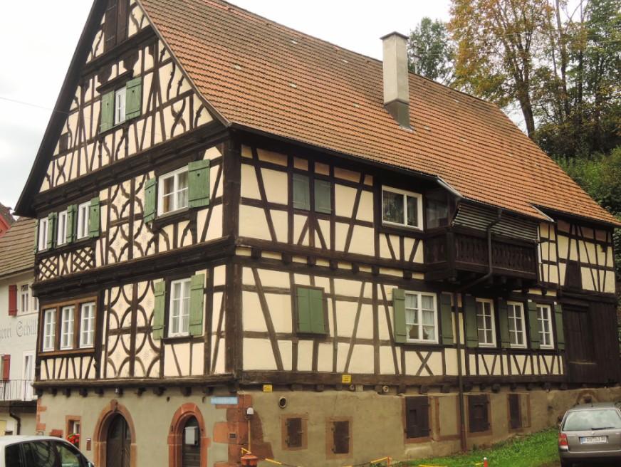 Típica construcción alemana