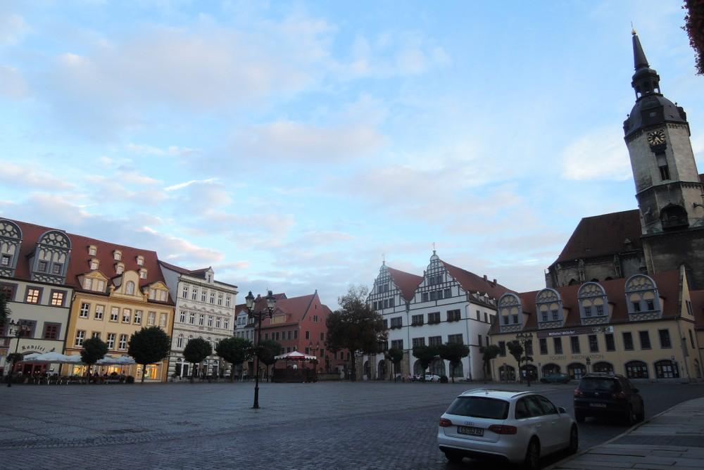 Naumburg, donde Nietzsche se crió