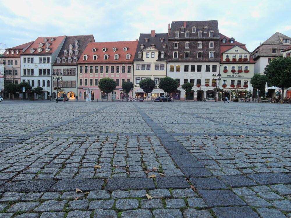 Plaza central ce Naumburg